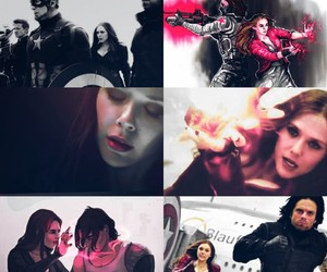 aesthetic, Marvel, and scarlet witch image