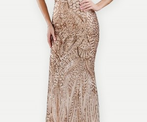 beauty, sequin, and bodycon image