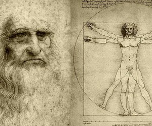 art, davinci, and Leonardo image