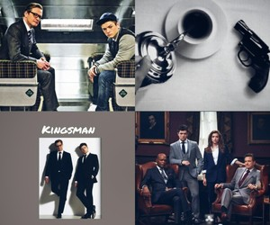 aesthetic, Marvel, and kingsman image