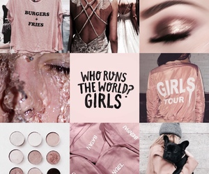 fashion, girl, and rose gold image