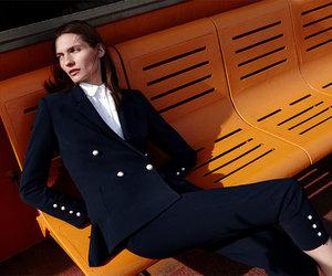 blazer, jacket, and pants image