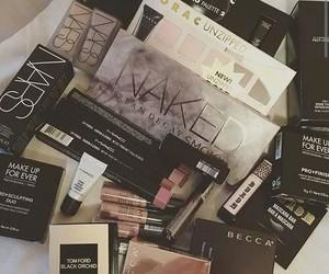 make up, makeup, and girl image