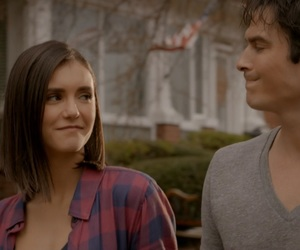 couple, tvd, and the vampire diaries image