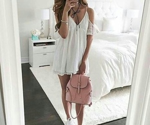 bag, fashion, and dress image