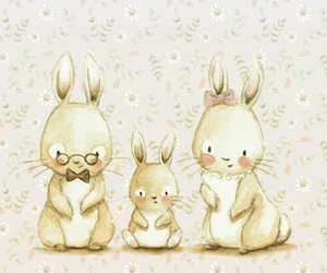 art, cute, and bunny image