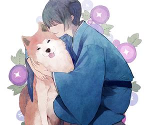 dog, hetalia, and japan image