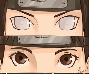 rock lee, neji hyuga, and guy image