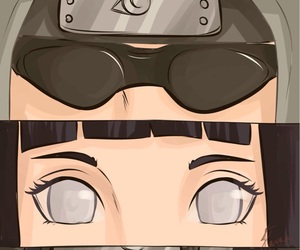 eyes, naruto, and kiba inuzuka image