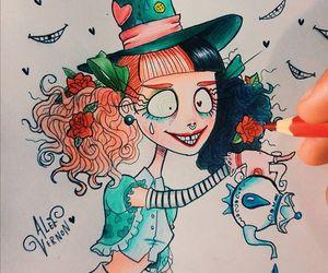 mad hatter and melanie martinez image