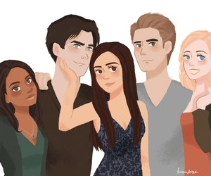 fanart, tvd finale, and not my art image