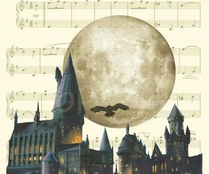 harry potter, music, and hedwig image