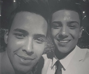 prince royce and luis coronel image