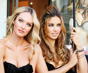 model, Adriana Lima, and girl image