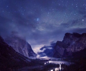 stars, nature, and night image