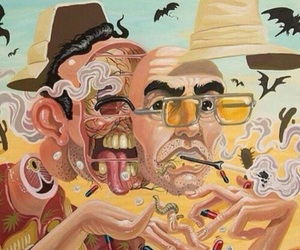 Fear and Loathing in Las Vegas, hunter s thompson, and johnny depp image