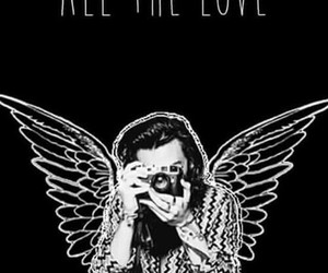 Harry Styles, one direction, and all the love image