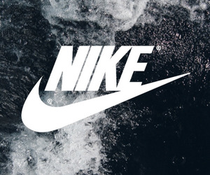 nike, wallpaper, and black image