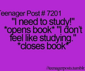 teenager post, study, and book image