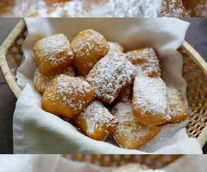 donut, dessert, and yeast image