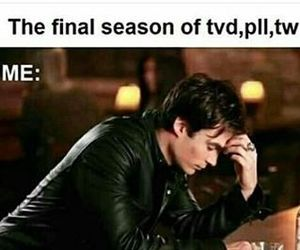the vampire diaries, teen wolf, and tvd image