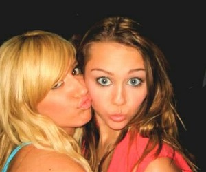 miley cyrus, ashley tisdale, and disney image