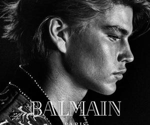 Balmain and black and white image