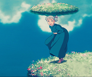 howl's moving castle and sophie image