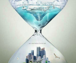 world, time, and global warming image