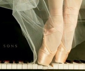 ballet, music, and piano image