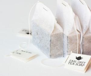 tea, white, and soap image