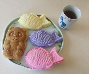 food, kawaii, and taiyaki image