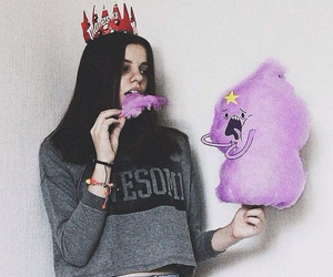 girl, adventure time, and grunge image