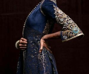 dress, fashion, and ravenclaw image