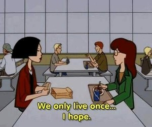 Daria, quotes, and aesthetic image