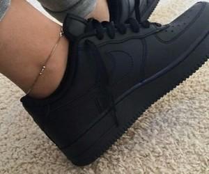 black, color, and black shoes image