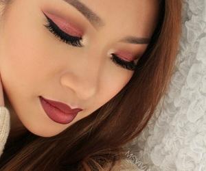 eyebrow, highlighter, and makeup image