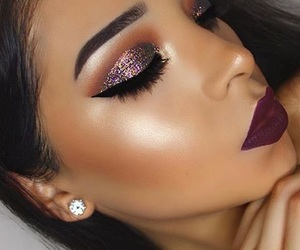 contour, eyeliner, and eyeshadow image