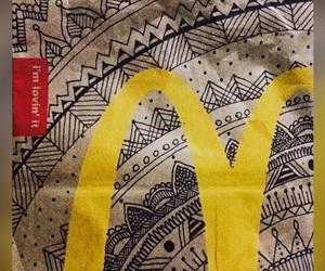 mandala, Mc, and McDonalds image