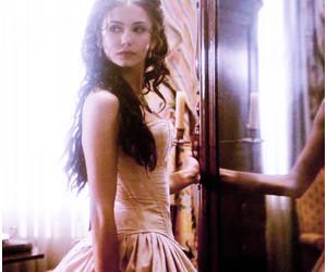 katherine pierce, Nina Dobrev, and the vampire diaries image