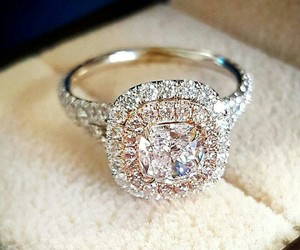 beautiful, diamond, and ring image