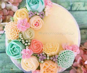 flowers, cake, and nice image