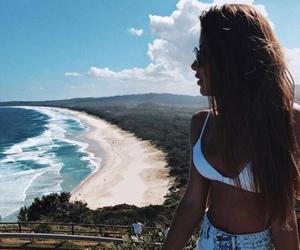beach, fashion, and praia image