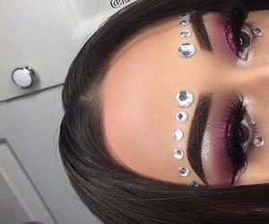 makeup and eyebrows image