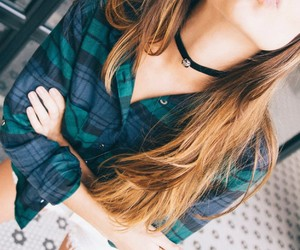 casual, clothes, and denim image