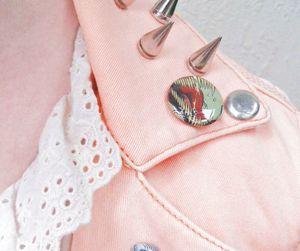 pink, pastel, and jacket image