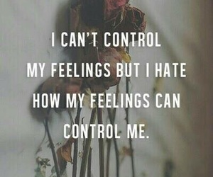 feelings, control, and quotes image