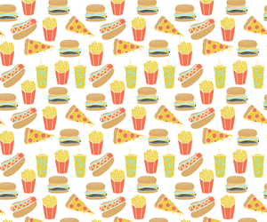 background, food, and French Fries image