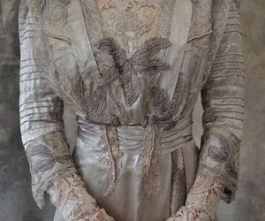 embroidered, etsy, and lace image