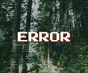 wallpaper, error, and grunge image